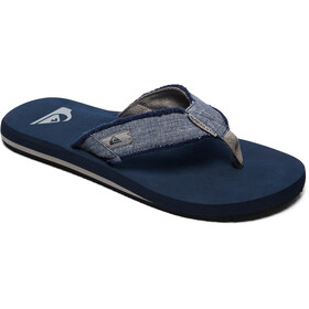 Quiksilver Monkey Abyss Sandals Men Grey/Blue/Grey